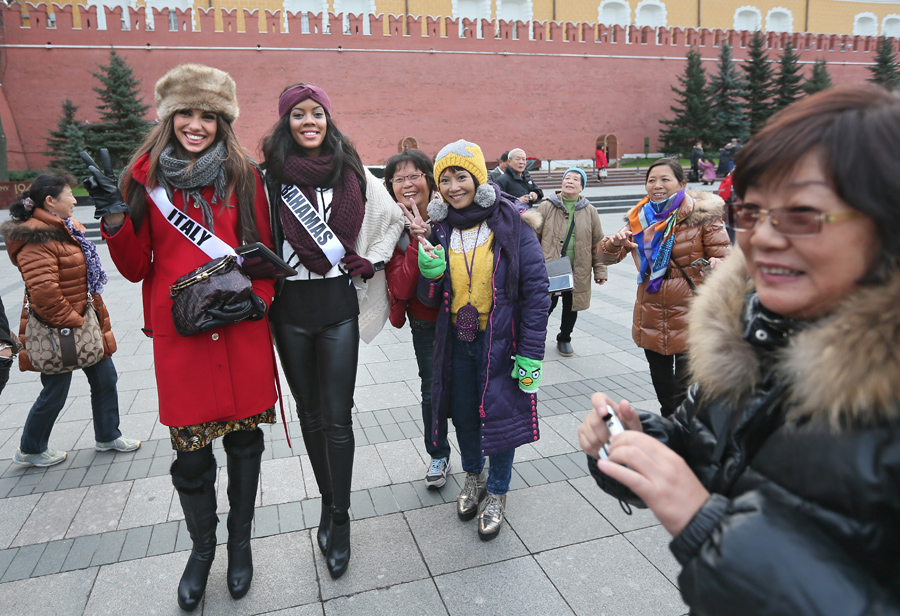 2013 Miss Universe Welcome tour