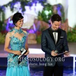 Linda Black and Oli Pettigrew Miss Earth 2013 hosts.