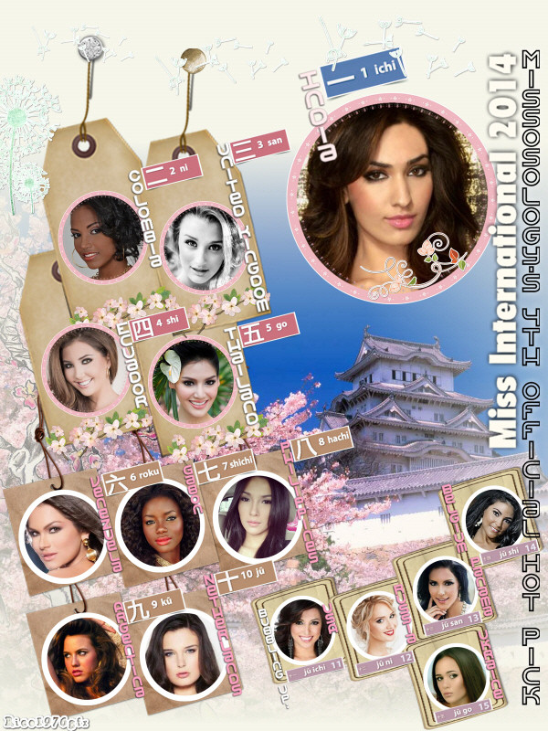 Miss International 2014 Official Coverage
