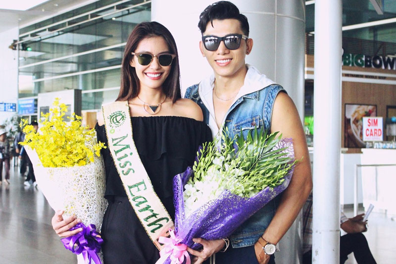 Angelia Ong received a warm welcome in Vietnam