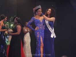 oria Nichole crowns Cherell Williamson - Photo: Draf Designs Photography for TheBahamasWeekly.com