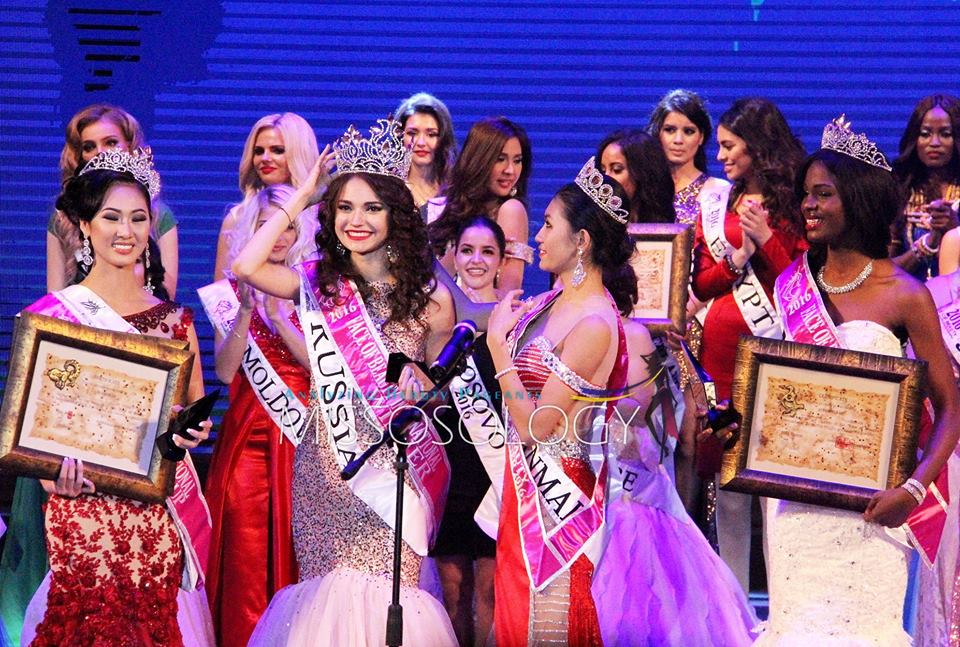 Who won international fresh faces pageant 2016