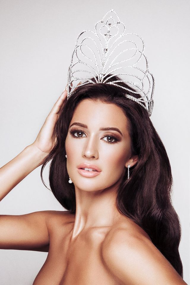 Jaime-lee Faulkner, Miss Universe GB 2016 (Photo by by Stacey Clarke)