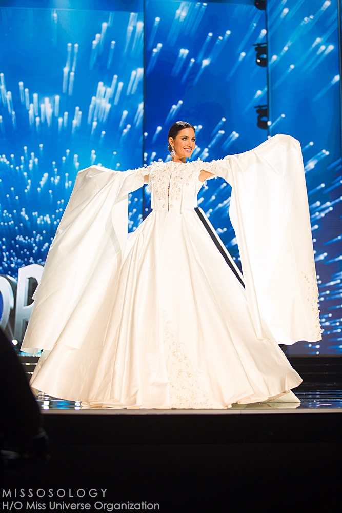 Nuka Karalashvili, Miss Georgia 2016  debuts her National Costume on stage at the Mall of Asia Arena on Thursday, January 25, 2017.  The contestants have been touring, filming, rehearsing and preparing to compete for the Miss Universe crown in the Philippines.  Tune in to the FOX telecast at 7:00 PM ET live/PT tape-delayed on Sunday, January 29, live from the Philippines to see who will become Miss Universe. HO/The Miss Universe Organization