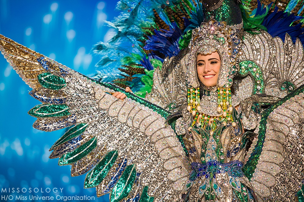 Marina Jacoby, Miss Nicaragua 2016 debuts her National Costume on stage at the Mall of Asia Arena on Thursday, January 25, 2017.  The contestants have been touring, filming, rehearsing and preparing to compete for the Miss Universe crown in the Philippines.  Tune in to the FOX telecast at 7:00 PM ET live/PT tape-delayed on Sunday, January 29, live from the Philippines to see who will become Miss Universe. HO/The Miss Universe Organization