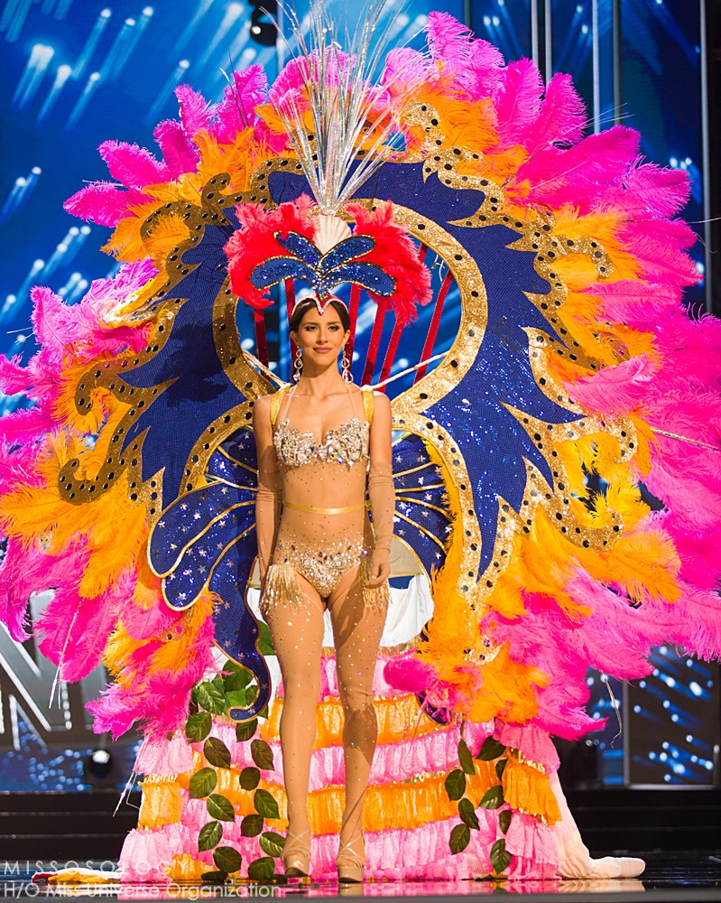 Carolyn Carter, Miss US Virgin Islands 2016 debuts her National Costume on stage at the Mall of Asia Arena on Thursday, January 25, 2017.  The contestants have been touring, filming, rehearsing and preparing to compete for the Miss Universe crown in the Philippines.  Tune in to the FOX telecast at 7:00 PM ET live/PT tape-delayed on Sunday, January 29, live from the Philippines to see who will become Miss Universe. HO/The Miss Universe Organization