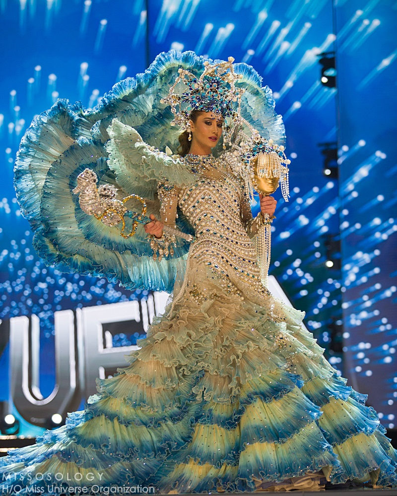 Mariam Habach, Miss Venezuela 2016 debuts her National Costume on stage at the Mall of Asia Arena on Thursday, January 25, 2017.  The contestants have been touring, filming, rehearsing and preparing to compete for the Miss Universe crown in the Philippines.  Tune in to the FOX telecast at 7:00 PM ET live/PT tape-delayed on Sunday, January 29, live from the Philippines to see who will become Miss Universe. HO/The Miss Universe Organization