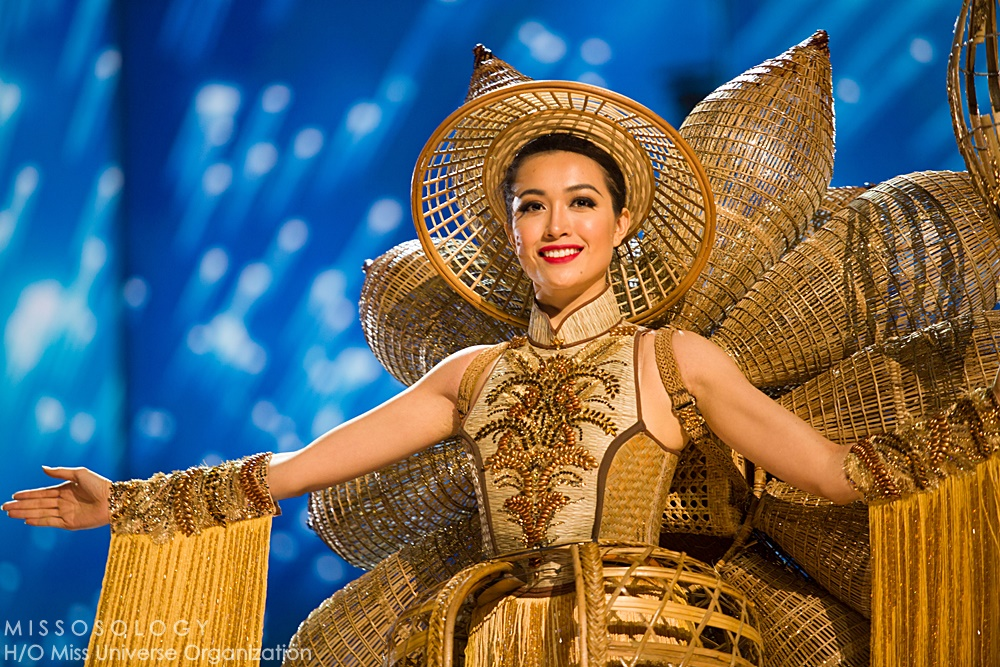 Le Hang, Miss Vietnam 2016 debuts her National Costume on stage at the Mall of Asia Arena on Thursday, January 25, 2017.  The contestants have been touring, filming, rehearsing and preparing to compete for the Miss Universe crown in the Philippines.  Tune in to the FOX telecast at 7:00 PM ET live/PT tape-delayed on Sunday, January 29, live from the Philippines to see who will become Miss Universe. HO/The Miss Universe Organization