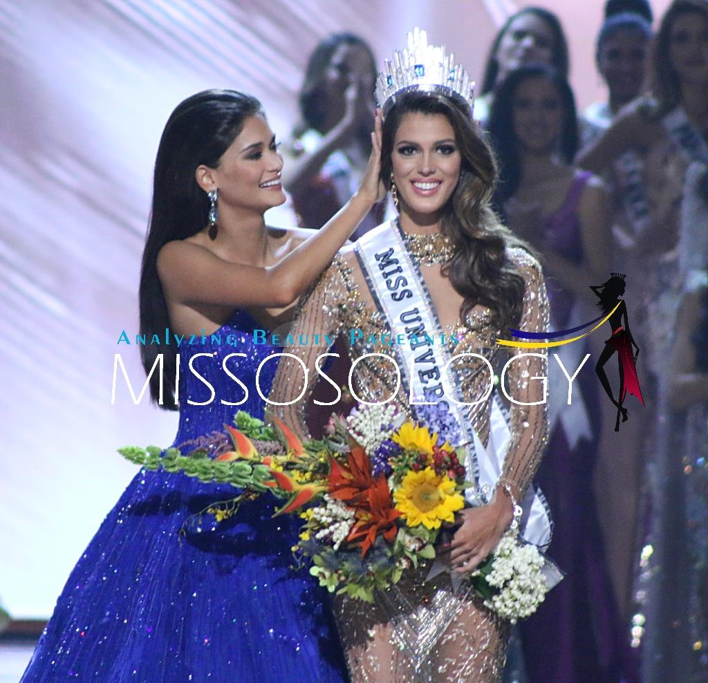 Iris Mittenaere of France wins Miss Universe 2016 title