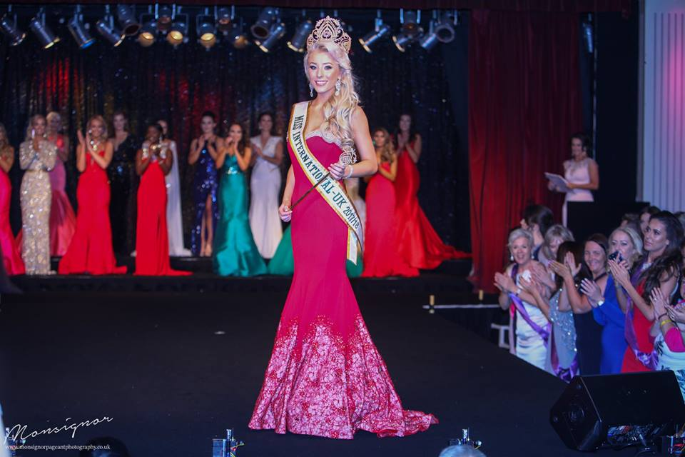Ashley Powell was crowned Miss International UK 2017 during the finals of the 2017 UK Power Pageant held Sunday, June 11. (Photo courtesy of Paul Carrol, Monsignor Photograhic)