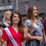 Miss Norway 2017 beauty camp and city parade