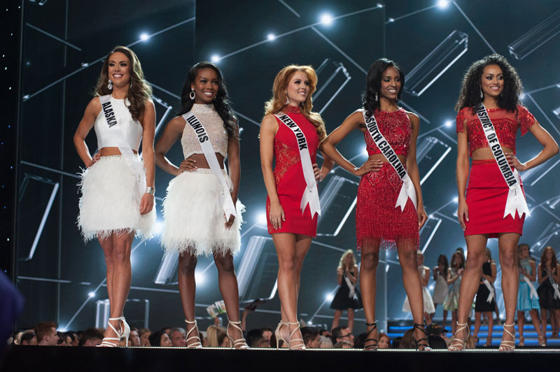 Miss USA 2017 top ten