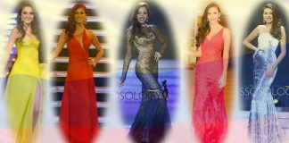 Miss Earth Colombia notable accomplishments (from left) Mariana Rodríguez Merchán top 8 finish (2008), Alejandra Castillo Munera top 8 placement (2009), Alejandra Villafañe Osorio (Top 16 in 2014), Top 8 finish of Estefania Muñoz Jaramillo (2015) and first runner-up finish of Michelle Gómez in 2016