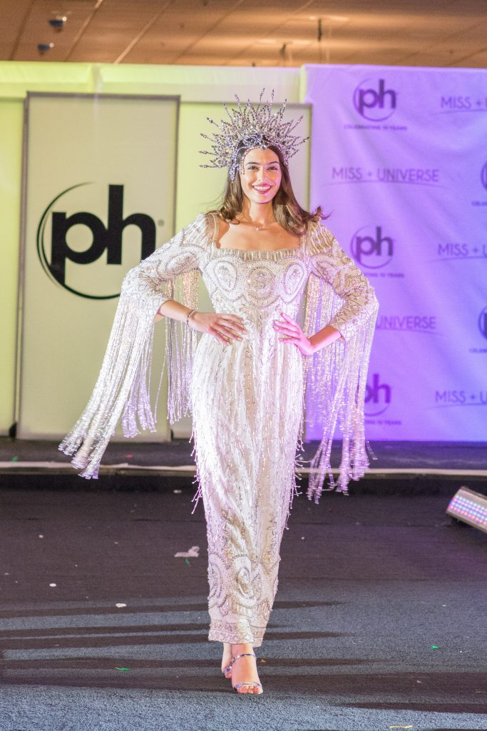 Jana Sader, Miss Lebanon 2017 debuts her National Costume on stage at Planet Hollywood Resort & Casino on November 18, 2017. The National Costume Show is an international tradition where contestants display an authentic costume of choice that best represents the culture of their home country. The Miss Universe contestants are touring, filming, rehearsing and preparing to compete for the Miss Universe crown in Las Vegas, NV. Tune in to the FOX telecast at 7:00 PM ET live/PT tape-delayed on Sunday, November 26, live from the AXIS at Planet Hollywood Resort & Casino in Las Vegas to see who will become the next Miss Universe. HO/The Miss Universe Organization