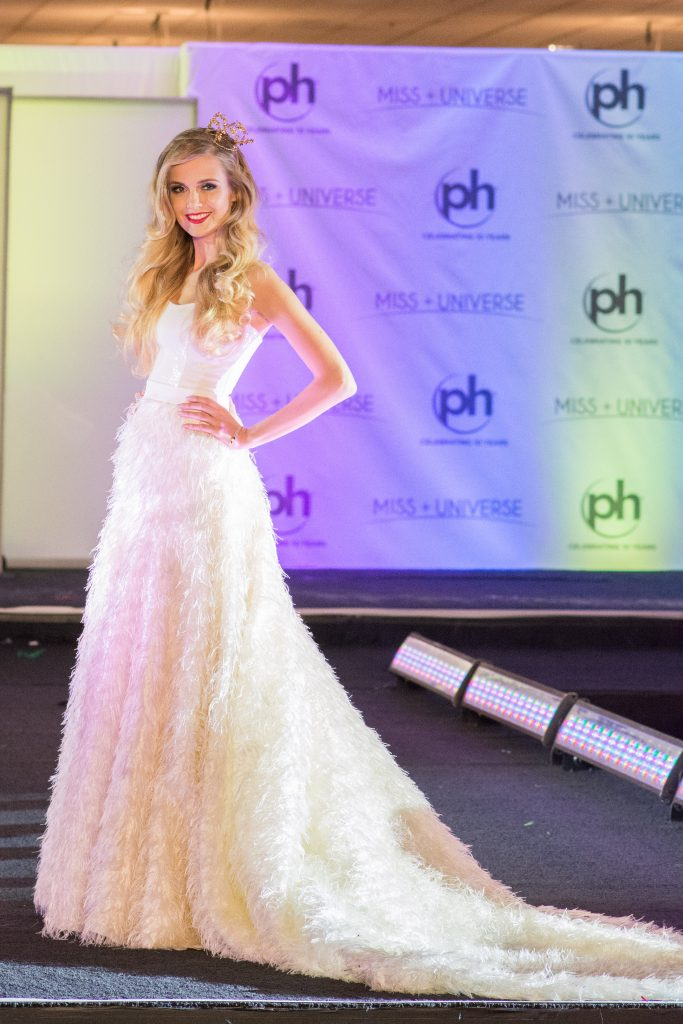 Katarzyna Włodarek, Miss Poland 2017 debuts her National Costume on stage at Planet Hollywood Resort & Casino on November 18, 2017. The National Costume Show is an international tradition where contestants display an authentic costume of choice that best represents the culture of their home country. The Miss Universe contestants are touring, filming, rehearsing and preparing to compete for the Miss Universe crown in Las Vegas, NV. Tune in to the FOX telecast at 7:00 PM ET live/PT tape-delayed on Sunday, November 26, live from the AXIS at Planet Hollywood Resort & Casino in Las Vegas to see who will become the next Miss Universe. HO/The Miss Universe Organization