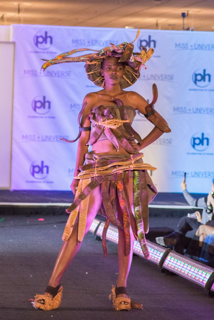 Lilian Ericaah Maraule, Miss Tanzania 2017 debuts her National Costume on stage at Planet Hollywood Resort & Casino on November 18, 2017. The National Costume Show is an international tradition where contestants display an authentic costume of choice that best represents the culture of their home country. The Miss Universe contestants are touring, filming, rehearsing and preparing to compete for the Miss Universe crown in Las Vegas, NV. Tune in to the FOX telecast at 7:00 PM ET live/PT tape-delayed on Sunday, November 26, live from the AXIS at Planet Hollywood Resort & Casino in Las Vegas to see who will become the next Miss Universe. HO/The Miss Universe Organization