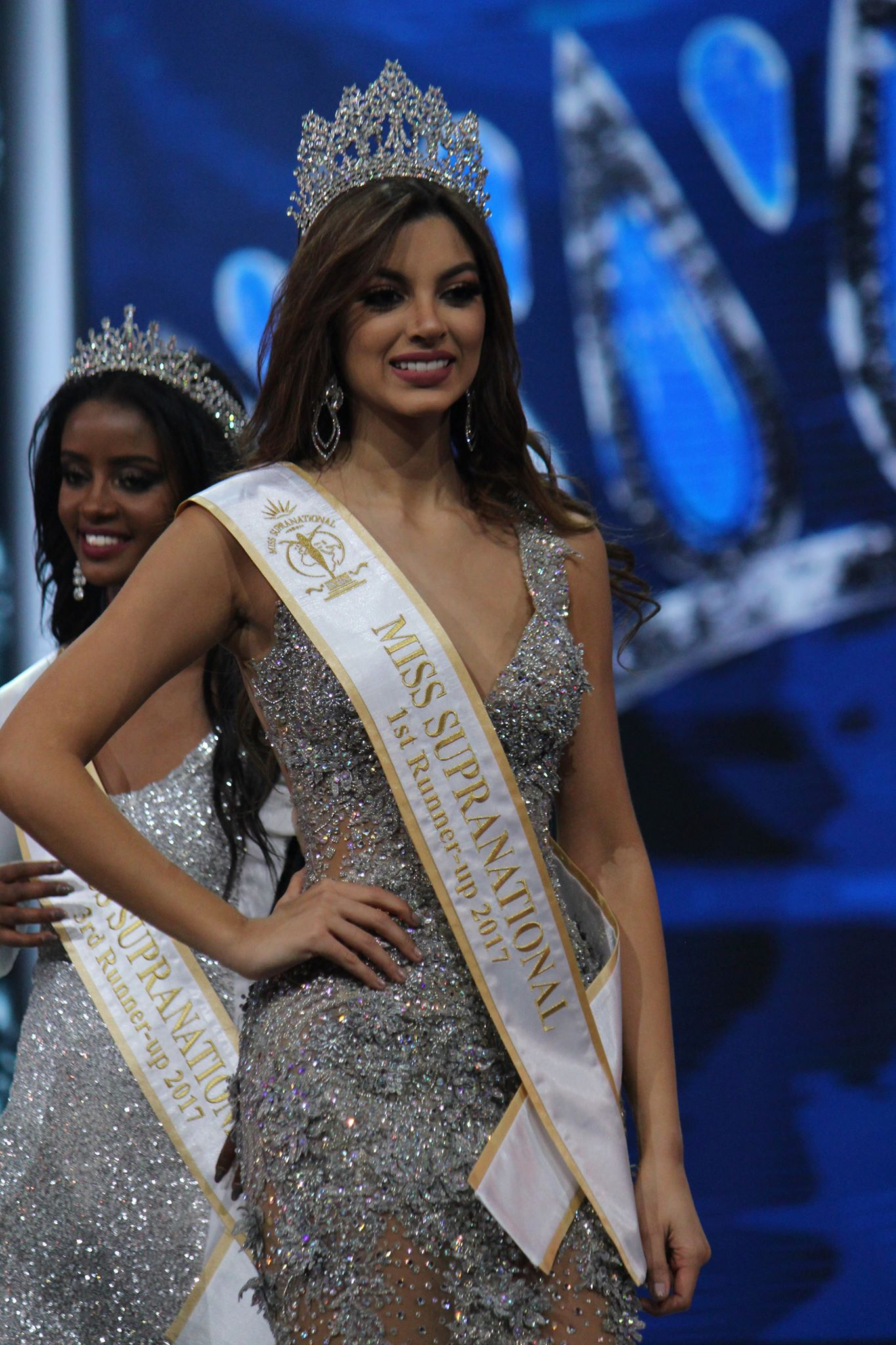 "Miss Colombia Martha ""Rica"" Martinez finished second"