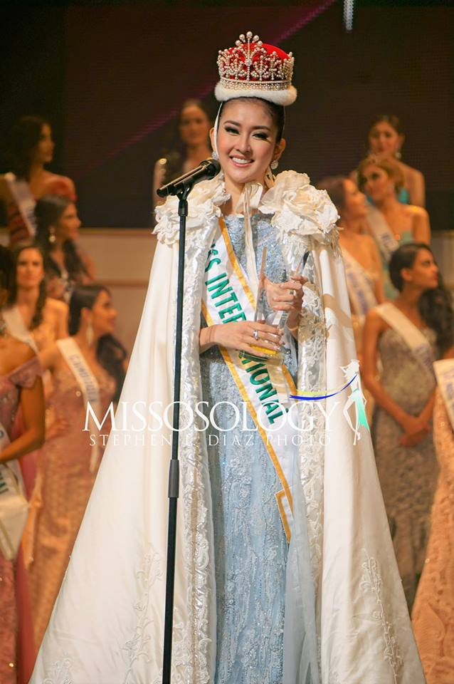 Miss International 2017 Kevin Lilliana from Indonesia (Photo by Stephen I. Diaz/Missosology.Org)
