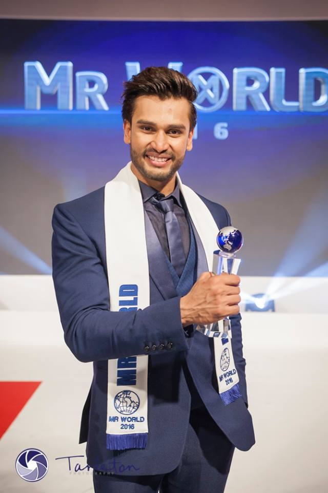 Mr World 2016 Rohit Khandelwal will be crowning his successor in the Philippines. (Photo: Mr World Facebook page)