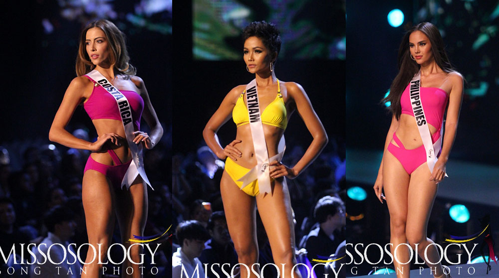 e24c83f7a0c Who's got the best curves? Who owned the stage by walking with confidence?  Who stole the show with killer moves? The swimsuit preliminary competition  of ...