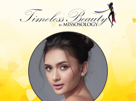 Missosology Timeless Beauty 2018 4th runner-up is Ma Ahtisa Manalo of the Philippines