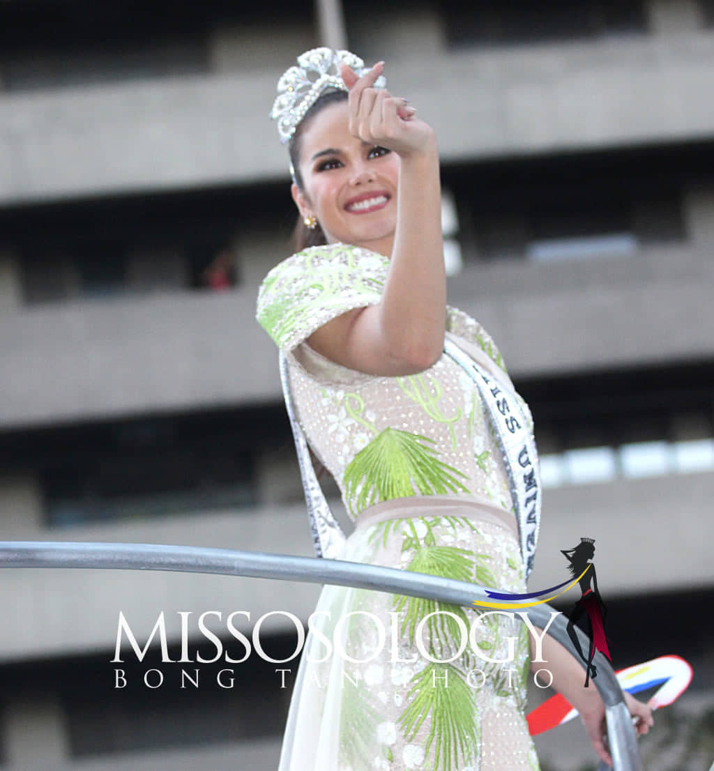 homecoming de miss universe 2018. 3-1