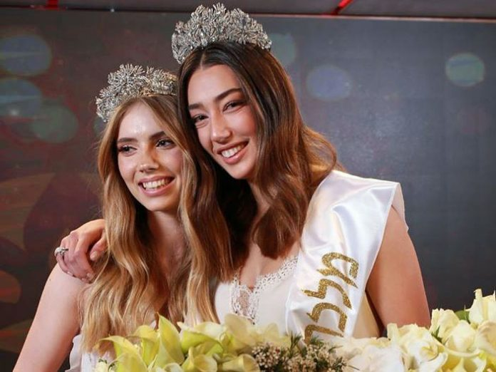 Sella Sharlin (right) with her first runner-up Uliana Fridrih
