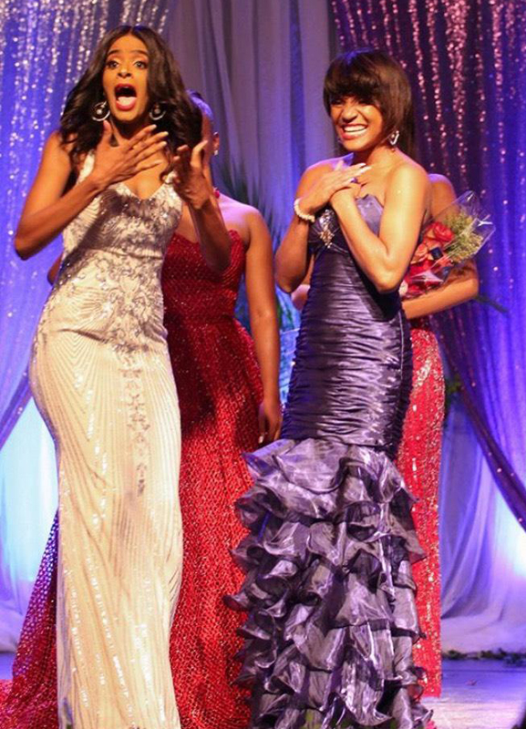Alysha Morency reacts after named as Miss World Haiti 2019