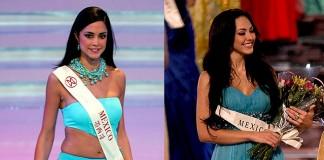 Dafne Molina, primera finalista en Miss Mundo 2005 y Perla Beltran, primera finalista en Miss Mundo 2009