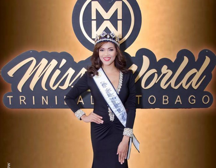 Daniella Walcott is Miss World Trinidad & Tobago 2016