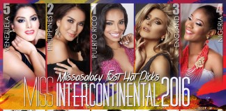 Miss Intercontinental 2016 First Missosology Hotpicks
