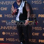 Flo.rida during the Miss Universe 2016 red carpet