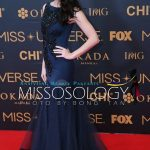 Miss Universe 2005 Natalie Glebova of Canada during the Miss Universe 2016 red carpet/PHOTO: Bong Tan/Missosology