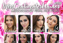 Miss United Continents 2017 Final Hot Picks by Missosology