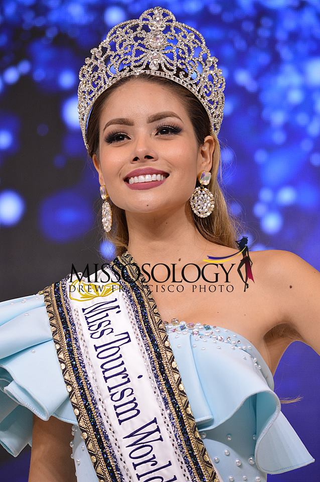 Miss Universe Colombia 2017 >> Colombia's Andrea Katherine Gutierrez is Miss Tourism World 2017/2018 - Missosology