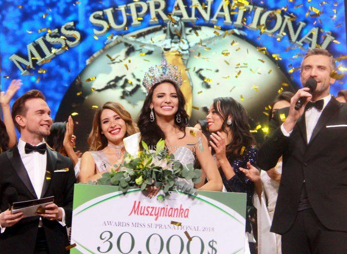 Miss Puerto Rico Valeria Vazquez is Miss Supranational 2018
