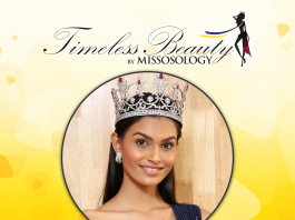 Missosology Timeless Beauty 2019 3rd runner-up is Suman Rao of India